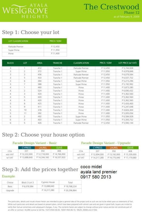 the-crestwood-price
