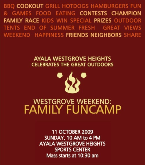 family funcamp invite 2
