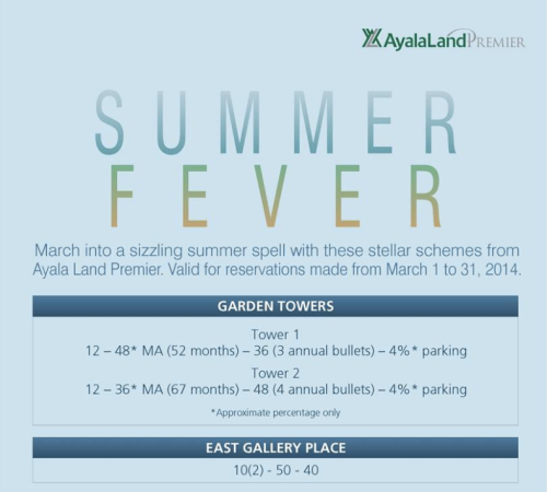 Ayala Land Premier SUMMER Terms