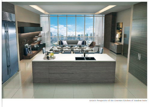 Park Central Towers Anadem Gourmet kitchen