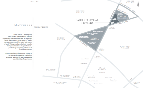 Park Central Towers Location Map