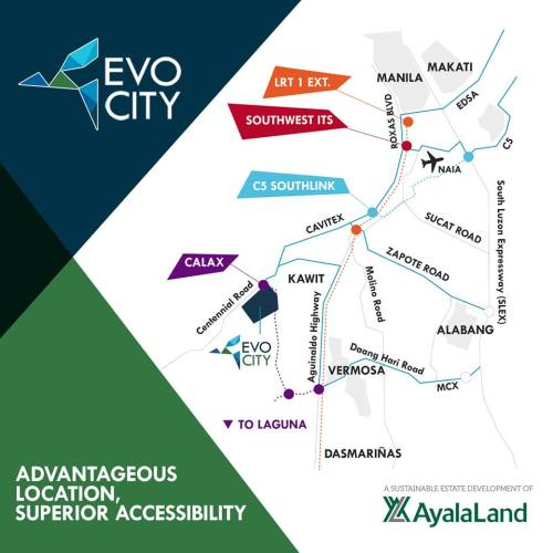 evo city map
