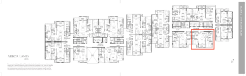 Arbor Lanes Block 2 Unit B 7E Floor Layout