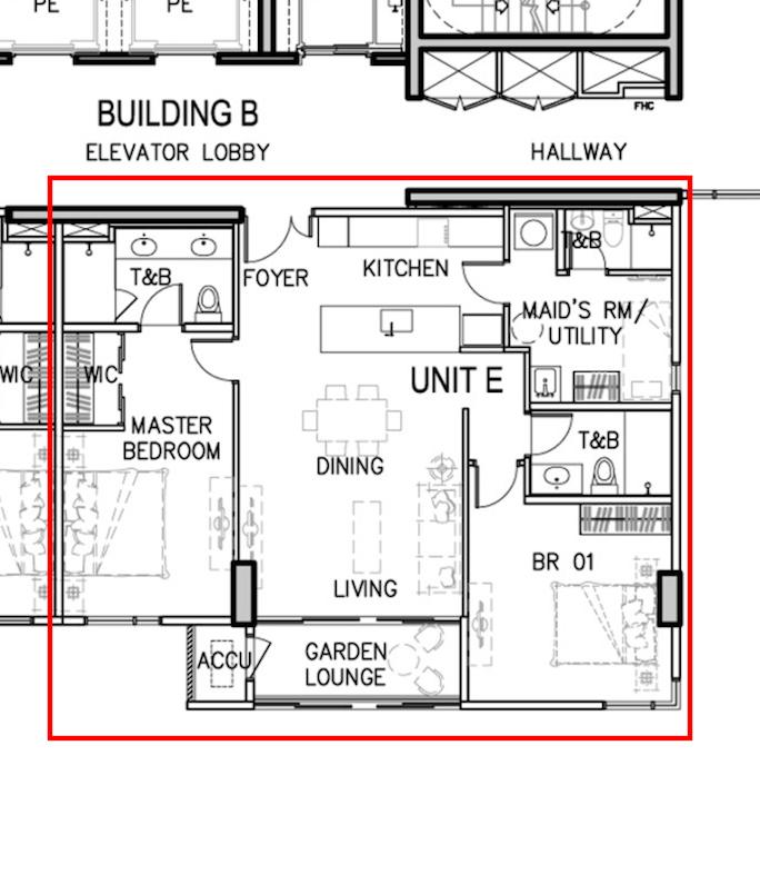 Arbor Lanes Block 2 Unit B 7E